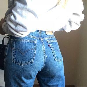 Levi's vintage 550 high rise mom jeans sz 6 27